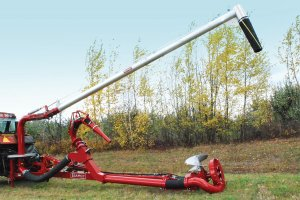 Hydraulic loading arm 8""